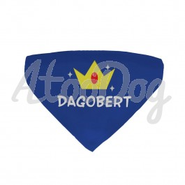 Bandana chien personnalisé Dagobert