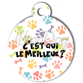img http://www.atoodog.fr/media/catalog/product/cache/3/image/332x/7a61cc83efcebf908165d093ef91dc47/s/u/sumer1009_medaille_personalisee_chien_fashion_patoune_multicolore_meilleur_os.png /img