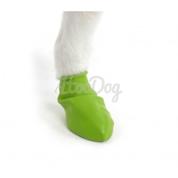 bottines de protection pawz pour chien en catouchouc. Black Bedroom Furniture Sets. Home Design Ideas