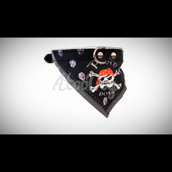 19e3830dbd4f ... Collier bandana chien tete de mort · bandana type pirate des caraibes  chien · pirates bandana fun ...
