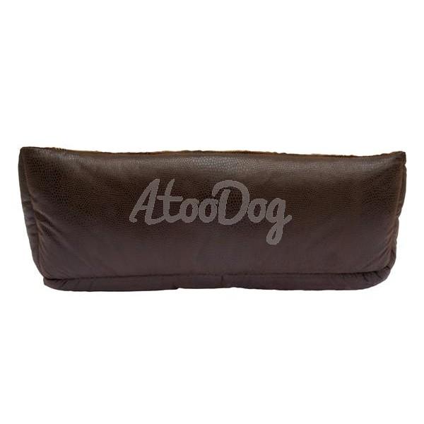 sofa pour chien ouatin motif peau de serpent. Black Bedroom Furniture Sets. Home Design Ideas