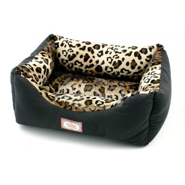 sofa pour chien motif l opard. Black Bedroom Furniture Sets. Home Design Ideas