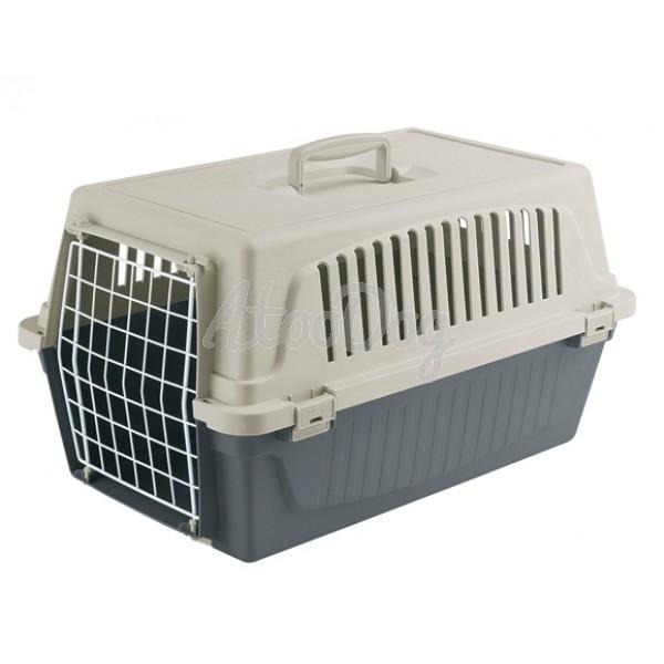 cage de transport pour chien en plastique atlas ferplast. Black Bedroom Furniture Sets. Home Design Ideas
