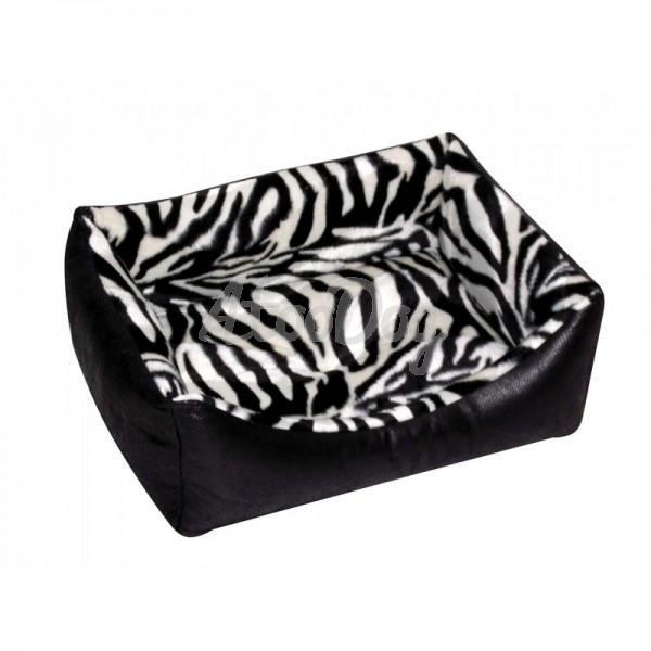 panier chat zebre