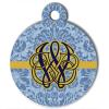 Médaille personnalisée chien Fashion baroque Winston