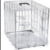 Cage pliante métallique 2 portes
