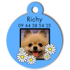 Medaille personalisee chien My Dog photo Richy