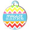 Medaille chien gravé Nam'Art Maggie