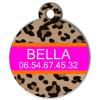 Medaille chien gravé Nam'Art Bella