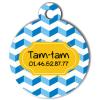 Medaille chien gravé Nam'Art TamTam