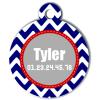 Medaille chien gravé Nam'Art Tyler