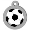 Médaille personnalisée chien Lifestyle ballon foot