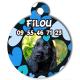 médaille personalisée chien mon animal