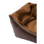 sofa chien motif peau de serpent