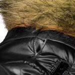 manteau petit chien noir