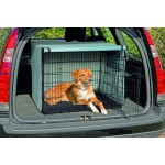 couvre cage chien
