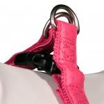 Harnais rose pour chien