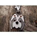 Médaille porte clé de race Schih Tzu | AtooDog.fr
