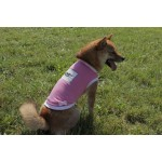Tee-shirt rose bulle wouf chien