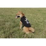 Tshirt noir best friend chien