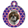 Medaille personalisee chien My Dog photo Harry