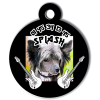 Medaille personalisee chien My Dog photo Splash