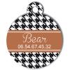 Medaille chien gravé Nam'Art Bear