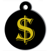 Médaille personnalisée chien Lifestyle dollar