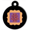 Médaille personnalisée chien Fashion blason