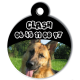 medaille personalisee chien Clash