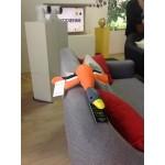 jouet_flottant_chien_cannard_orange_neoprene