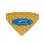 Bandana chien personnalisé Nesty2