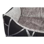 sofa pour chien silver