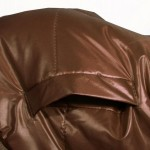 manteau chien marron