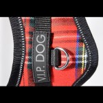 harnais chien ecossais nylon scratch
