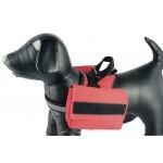 harnais chien rouge