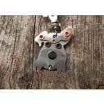 Médaille porte clé de race Schnauzer |AtooDog.fr