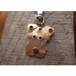 Médaille porte clé de race Terrier | AtooDog.fr